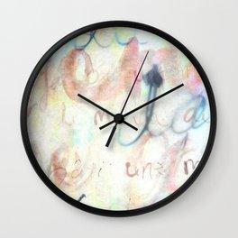 Océan de Terre III Wall Clock