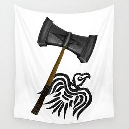 Thor Viking War Hammer Wall Tapestry