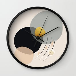 Modern minimal forms 24 Wall Clock