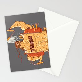 Nunchucks or Nothing! Stationery Cards