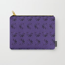 passion flower in violet Carry-All Pouch