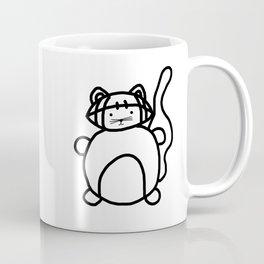 Football Cat Coffee Mug