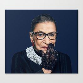 Ruth Bader Ginsburg No. 3 Canvas Print