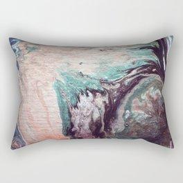 Great wave of doubt Rectangular Pillow
