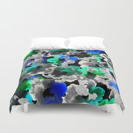 Etched Watercolor Duvet Cover