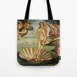 The Birth of Venus - Nascita di Venere by Sandro Botticelli Tote Bag