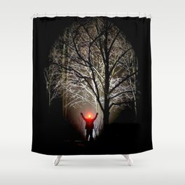 The 3rd Eye Shower Curtain