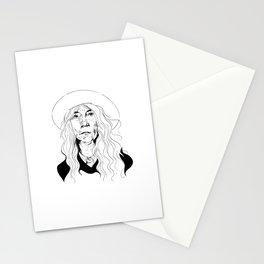 Punk poet Stationery Cards