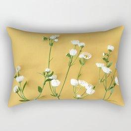 Yellow summer | Flower Photography Rectangular Pillow
