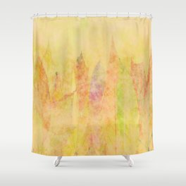 Flaming Autumn Shower Curtain