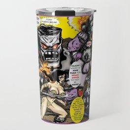 Cover page of Tex Watt's  (UNCENSORED) SUNDAY COMIX POP-ART! Travel Mug
