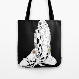GIRL INKED UP Tote Bag