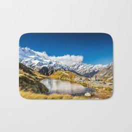 New Zealand Mount Cook Aoraki Bath Mat