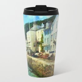 Bayards Cove, Dartmouth,  Devon Travel Mug