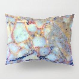 marble effect 007 (blue) Pillow Sham