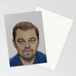 Leonardo DiCaprio portrait Stationery Cards