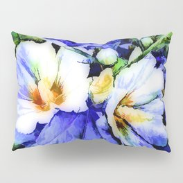Blue Summer Day Pillow Sham