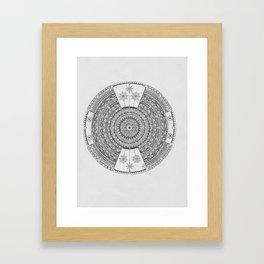 Mandala #2 Framed Art Print