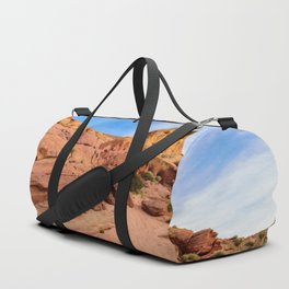 0202 Valley_of_Fire_State_Park, Nevada Duffle Bag
