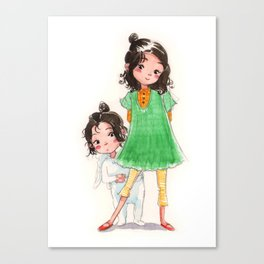 My Sister the Bunny Girl 2 Canvas Print