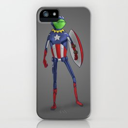Captain Kermit iPhone Case