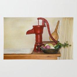 Water Pump Rug