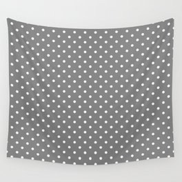 Dots (White/Gray) Wall Tapestry