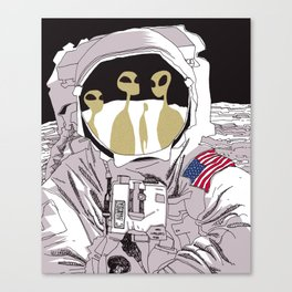 Meet Buzz Aldrin Canvas Print