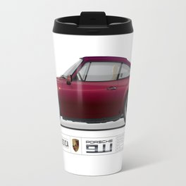Porsche 1983 911 3.0 SC Ruby Red Metallic Travel Mug