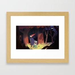 The Beast is afoot Framed Art Print