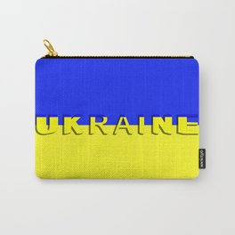 The state flag of Ukraine Carry-All Pouch