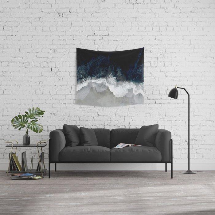 Blue Sea Wandbehang
