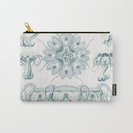 Discomedusae-Scheibenquallen from Kunstformen der Natur (1904) by Ernst Haeckel Carry-All Pouch