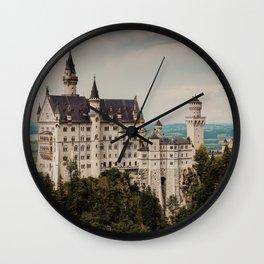 Schloss Neuschwanstein   Fine Art Travel Photography Wall Clock