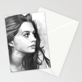 Anne Hathaway minimalist illustration Stationery Cards