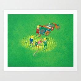 We Reprezent Art Print