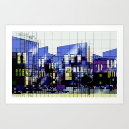 Abstract Architecture Background Art Print