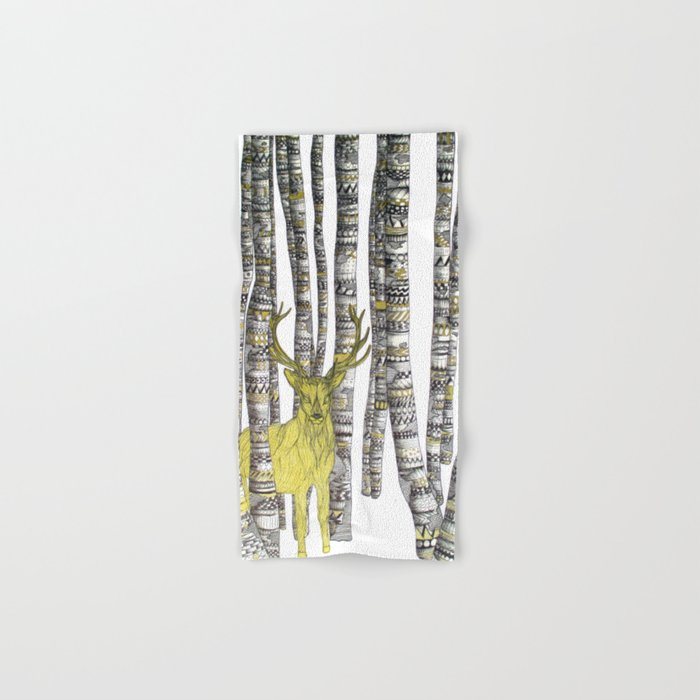 The Golden Stag Hand & Bath Towel