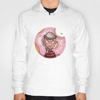 doughnut Hoodies featuring Freddy Doughnut by ajd.abelita
