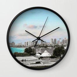 Top of Jaffa Wall Clock
