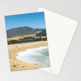 Carmel River State Beach, Carmel, California Stationery Cards