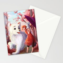 Kagura & Sadaharu Stationery Cards
