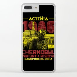 CHERNOBYL 1986 Clear iPhone Case