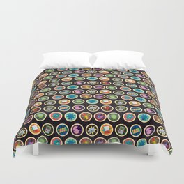 Toys, Games and Candy Duvet Cover