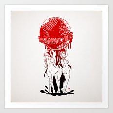 TWIY (TheWorldIsYours)  Art Print