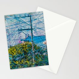 Linked out Victorians in Mission District sfc Stationery Cards