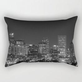 Denver All Aglow B & W Rectangular Pillow