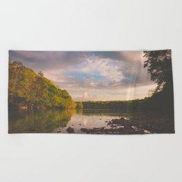 Sope Creek, Georgia Beach Towel