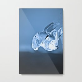 Melting Metal Print