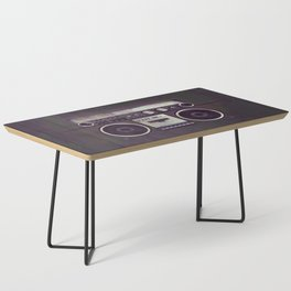 Retro Boombox Coffee Table